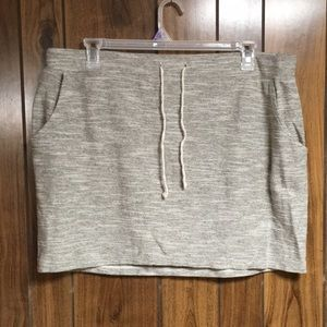 3/$15 Sonoma Pocketed Terry Skirt XL
